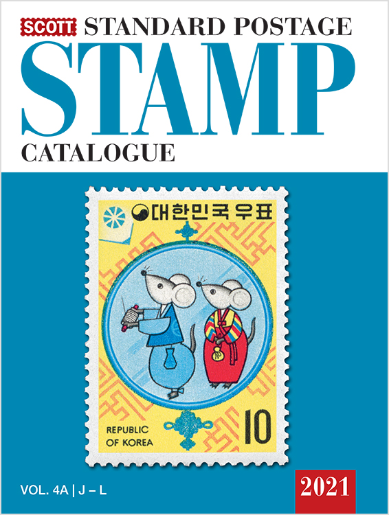 2021 Scott Standard Postage Stamp Catalogue - Volume 4 (J-M)