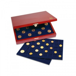 Wood Coin Case Elegance - Mix